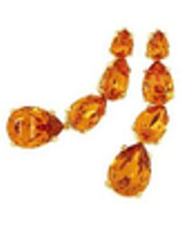 AZ Collection - Tangerine Dangle Earrings - Lyst