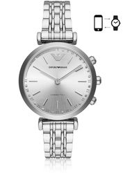 Emporio Armani - Connected Women's Hybrid Smartwatch - Lyst