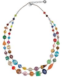 Antica Murrina - Long Bouquet Necklace - Lyst