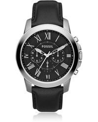 Fossil FS4812IE Grant Men's Watch - Metálico