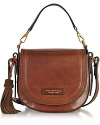 The Bridge - Medium Messenger Tasche aus Leder mit Troddeln - Lyst