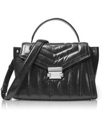 Michael Kors - Whitney Medium Quilted Leather Satchel - Lyst