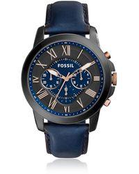 Fossil FS5061 Grant Men's Watch - Negro