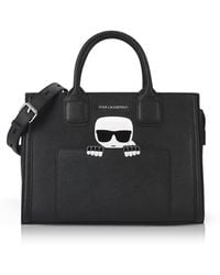 Karl Lagerfeld - K/ikonik Klassik Tote - Lyst