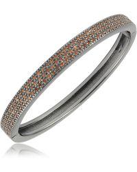 Azhar - Cubic Zirconia Bracelet - Lyst