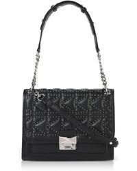 Karl Lagerfeld - K/kuilted Studs Handbag - Lyst