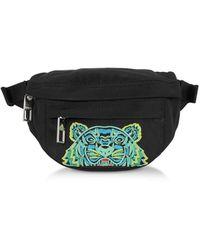 KENZO Kanvas Tiger Mini Belt Bag - Black