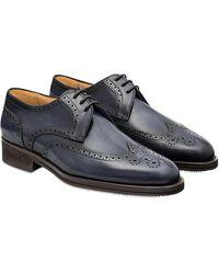 Pakerson Stone Pisa Derby Shoe - Grau