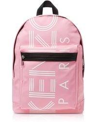 KENZO - Flamingo Pink Nylon Large Sport Backpack - Lyst