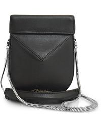 3.1 Phillip Lim - Black Leather Soleil Mini Case - Lyst