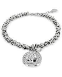 Nomination Sterling Silver Love Charm Bracelet - Metálico