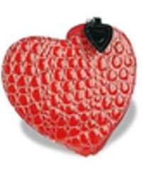Fontanelli Heart Coin Holder - Red