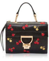 Coccinelle - Arlettis Leather Mini Bag W/cherry - Lyst