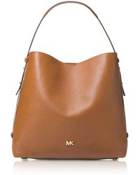 Michael Kors - Griffin Large Leather Shoulder Bag - Lyst