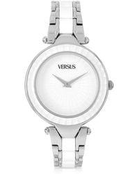 Versus - Sertie Stainless Steel And Resin Women's Watch - Lyst