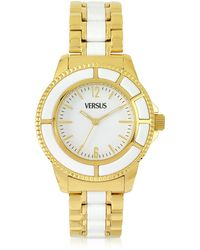 Versus - Tokyo 38 Gold And Resin Women's Watch - Lyst