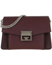 Givenchy Light Beige Leather Medium Pandora Crossbody Bag in Natural ... 1b132871e15c9