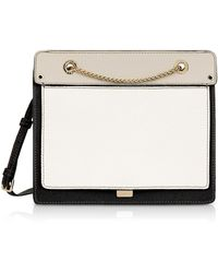 Furla - Like Small Color Block Leather Crossbody Bag W/chain Strap - Lyst