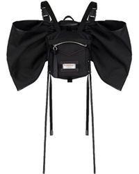 Givenchy Mini Backtown Backpack With Nylon Bow - Black