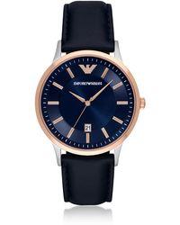 Emporio Armani - Ar2506 Renato Men's Watch - Lyst