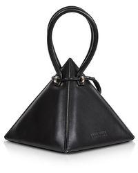 Nita Suri Lia Iconic Handtasche aus Leder - Schwarz