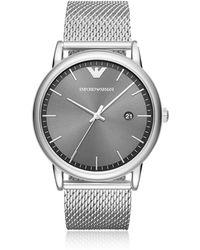 Emporio Armani - Ar11069 Luigi Slim Men's Watch - Lyst
