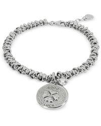 Nomination Sterling Silver Good Luck Charm Bracelet - Metálico