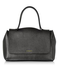 Le Parmentier - Ciprea Hammered Leather Satchel Bag - Lyst