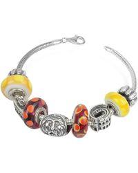 Tedora - Sterling Silver Rome Bracelet - Lyst