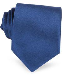 FORZIERI Corbata Azul Extra-Larga