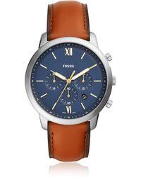 Fossil FS5453 Neutra chrono Men's Watch - Metálico
