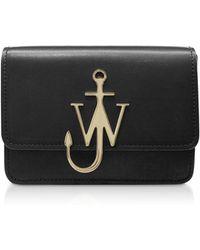 JW Anderson Black Logo Bag - Noir