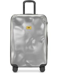 Crash Baggage Icon mittelgroßer Trolley - Mettallic