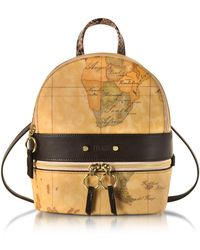 Alviero Martini 1A Classe - Vanity Dark Brown Leather Backpack - Lyst