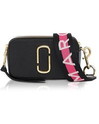 Marc Jacobs Logo Strap Snapshot Camera Bag - Black