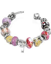 Tedora - Sterling Silver Romance Bracelet - Lyst