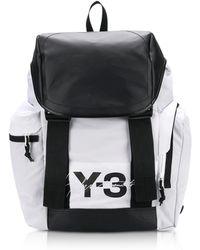 Lyst - Y-3 Ultratech S Backpack in Black for Men 6da151fca5