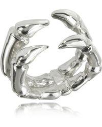 Bernard Delettrez - Parrot Claw Silver Ring - Lyst