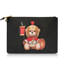 Moschino Bolso de mano Teddy Bear - Negro