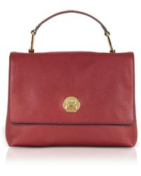Coccinelle - Liya Leather Satchel Bag - Lyst