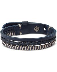 Fossil - Ja6807040 Vintage Casual Men's Bracelet - Lyst