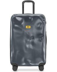 Crash Baggage Icon mittelgroßer Trolley - Grau