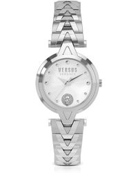 Versus - V Versus Silver Stainless Steel Women's Bracelet Watch - Lyst