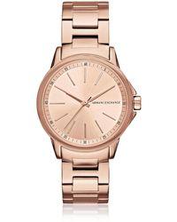 Armani Exchange - Ax4347 Lady Banks Women's Watch - Lyst