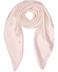 FORZIERI - Pure Silk Square Scarf - Lyst