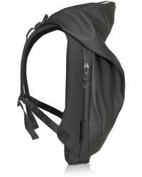 Côte&Ciel Nile Rucksack aus Obsidian-schwarzem Polyester
