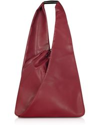 MM6 by Maison Martin Margiela Japanese Bag Secchiello con Tracolla - Rosso