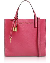 Marc Jacobs - The Grind Mini Leather Tote Bag - Lyst