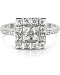 FORZIERI 0.51 Ctw Diamond 18k White Gold Ring