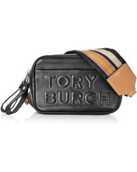 9f92d1421bb Tory Burch - Perry Double Zip Mini Shoulder Bag - Lyst